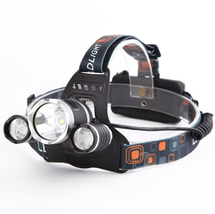 Outdoors LED Headlamp 5000 LM Rechargeable Spotlight For Hunting Fishing Camping