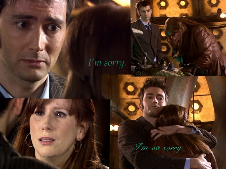 """Pictures & quote from: Doctor Who - """"Journey's End"""" (The quote is actually said other times, but I took it from this episode for this collage.)"""