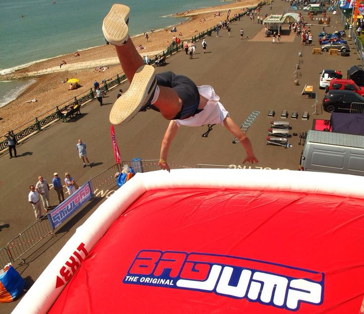 Bagjump UK @ paddle around the pier
