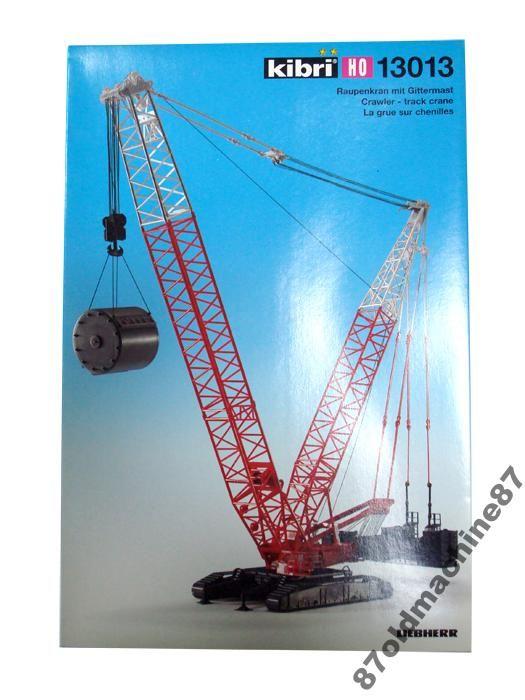 Автокран Lttc Crane w/Ctpllr KIBRI -1:87(НО)
