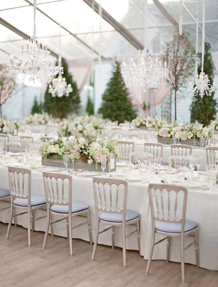 Tented Reception with Romantic Accents and Chandeliers   JOSE VILLA PHOTOGRAPHY   A NEW LEAF   http://knot.ly/6491BQJKh