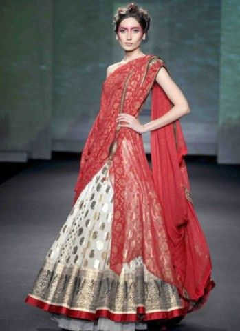 Color Golden, Red Collection Party Wear Lehengas Weight 3 Kg Season Any Occasion Party Wear Art Style Zardosi Work Fabric Georgette Work Embroidered