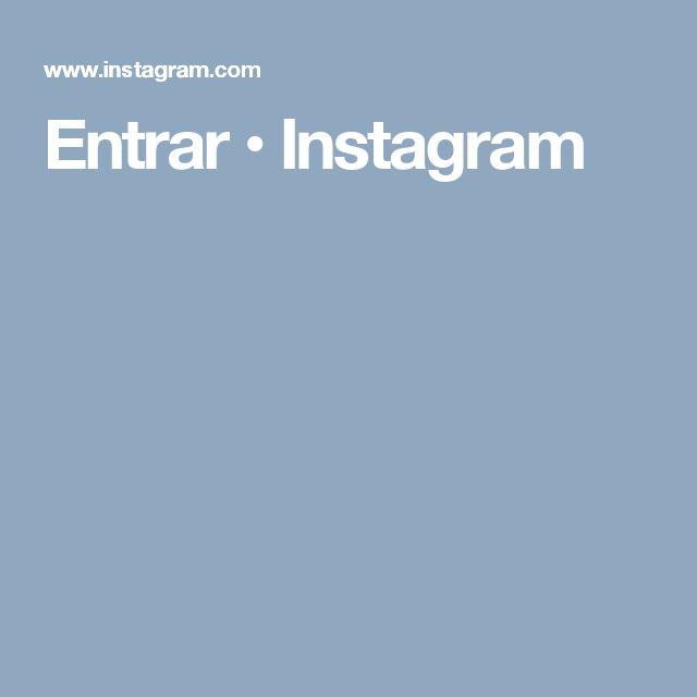 Entrar • Instagram