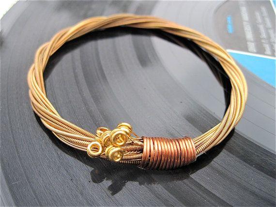 Guitar String Bracelet.