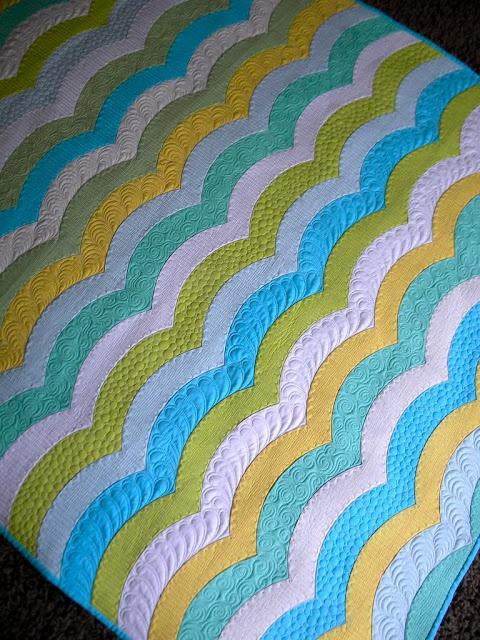 Wave Quilt - Sew Kind Of Wonderful
