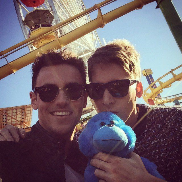 Pin for Later: Relive Tom Daley and Dustin Lance Black's Love Story Through…