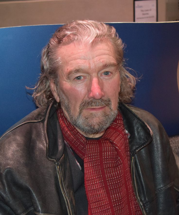 Clive Russell, special guest at StAnza 2015, photo by Alice Roberts