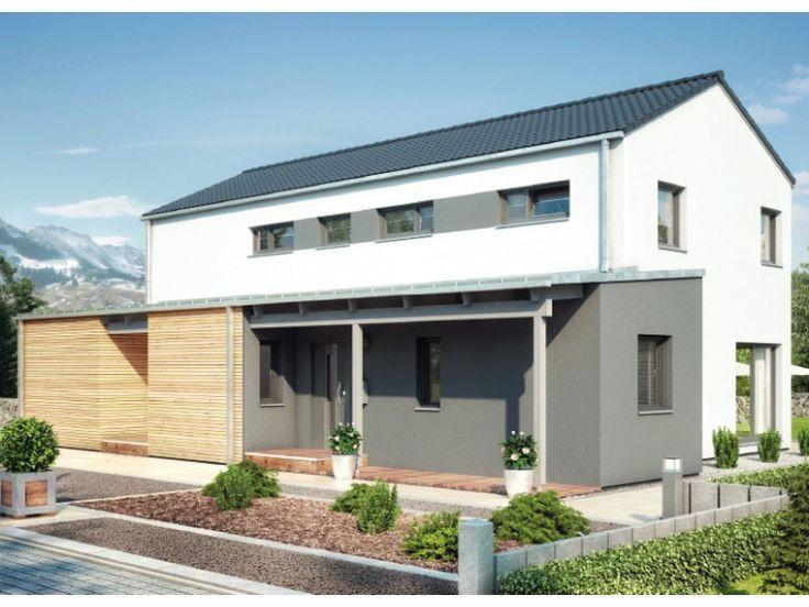Fassade modern einfamilienhaus  83 besten Haus Fassade Bilder auf Pinterest | Architektur, Wohnen ...