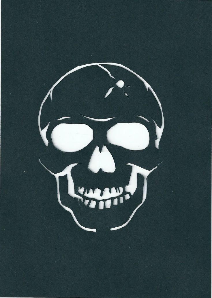 Best 20+ Skull stencil ideas on Pinterest   Skull ...