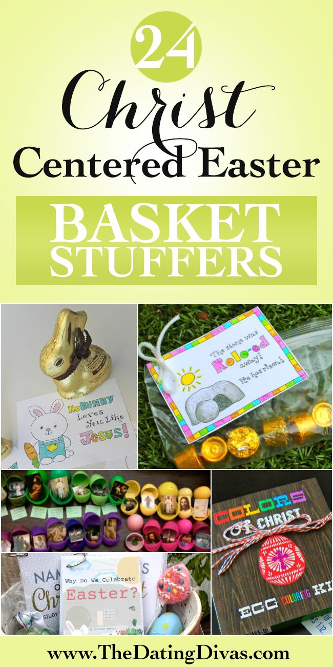 LOTS of fun and easy Christ-Centered Easter gift ideas - perfect for Easter Basket fillers.