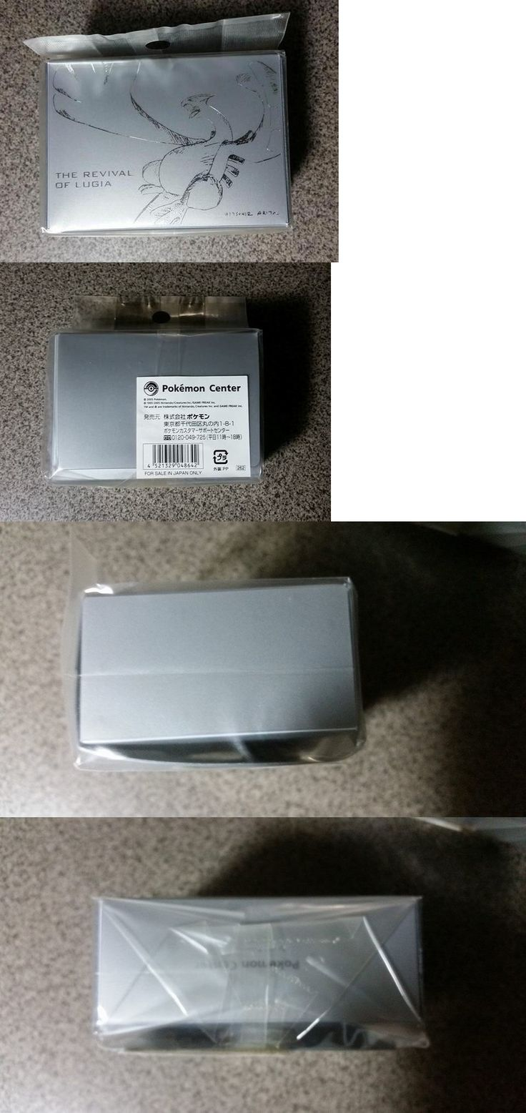 Other Pok mon TCG Items 2608: New! Pokemon Revival Of Lugia Sketch Deck Box Mint Rare Pokemon Center Japan -> BUY IT NOW ONLY: $159.99 on eBay!