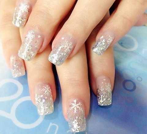 63 Stunning Winter Wedding Nails Ideas | HappyWedd.com
