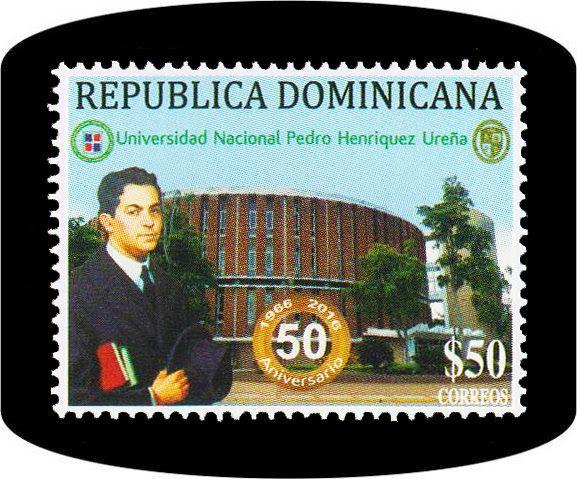 El Instituto Postal Dominicano puso en circulación el día 20 de abril, un sello Postal conmemorativo al 50 Aniversario de la Universidad Nacional Pedro Henríquez Ureña.  Ver más detalles en nuestro blog. #sellosdominicanos