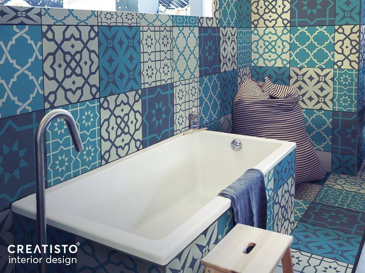 Fliesen Verschönern Leicht Gemacht! Mit Fliesenaufkleber Set Für Küche Und  Bad Mit Dem Design Marokkanische
