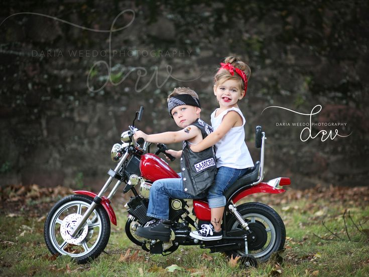 my niece and her friend on a motorcycle!  please visit my photography website…