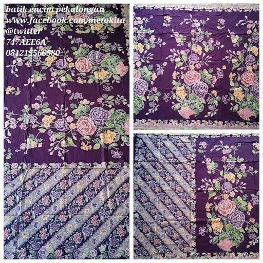 """#batik #encim pekalongan. Soft cotton """"primis"""". Visit www.facebook.com/metokita for more."""