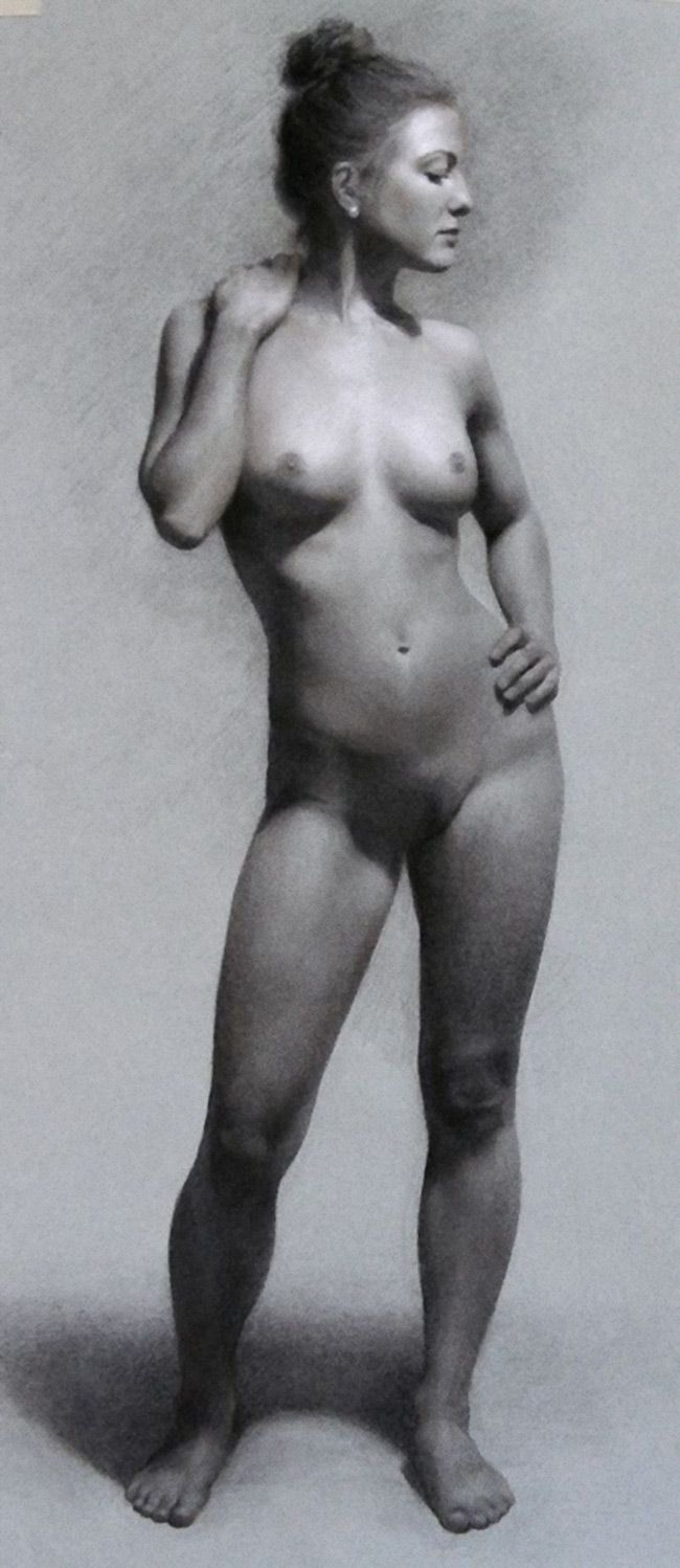 About such Full figure nude study speaking