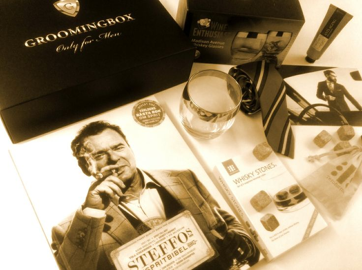 "This ""Steffos Liquor Bible"" by #SteffoTörnquist is really fantastic! We went through it and it's definitely your new must-have! Order your #Groomingbox on:  www.groomingbox.com  and get a unique set of #grooming #fashion and #lifestyle products dedicated for the #modern #Man. This edition was insipred by the #MadMen series.   #teroforma #wineenthusiast #whisky #whiskey #accessories #eton #phenome #goldkenn #famousgrouse"