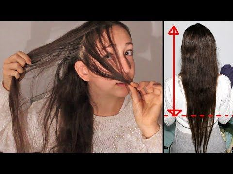 Comment j'ai fait REPOUSSER et EPAISSIR mes cheveux très FINS ! méthode 100% NATURELLE - YouTube