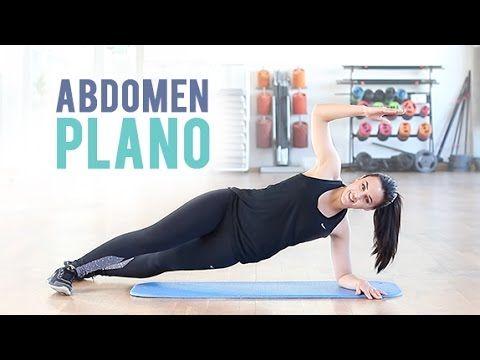 Ejercicios para tener un abdomen plano. Ideal para principiantes