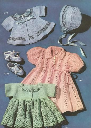 48 best kids style images on pinterest kid styles kids fashion 5 vintage crochet and knitting patterns baby sweaters booties bonnet dresses lovely going home outfit ideas fandeluxe Gallery
