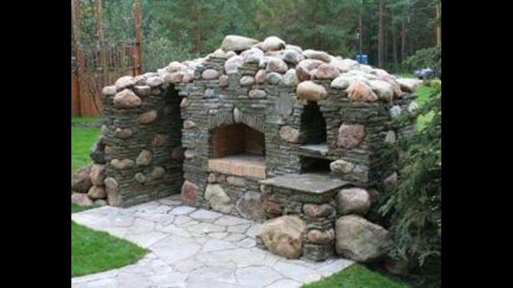 Уличные камины,печи,мангалы-простые и сложные.
