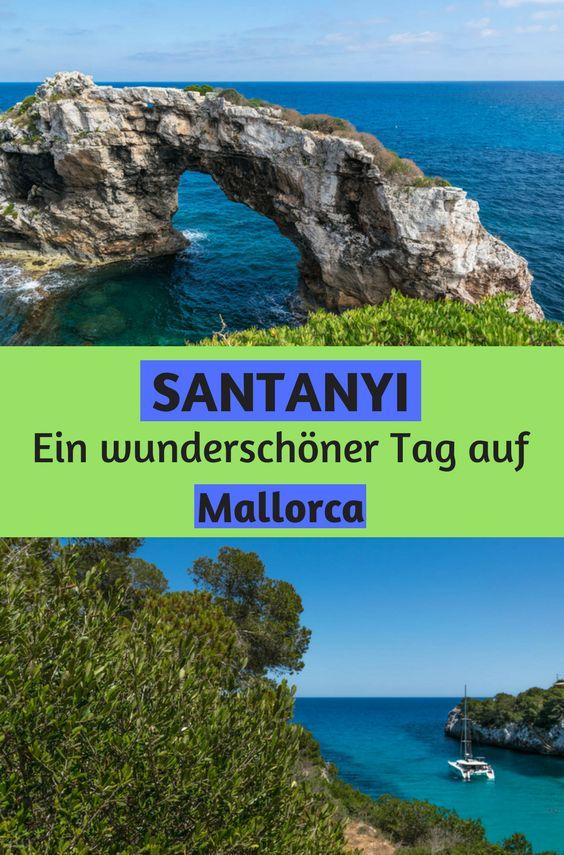 Santanyi - Wir verbrachten auf unserer Reise einen wunderschönen Tag in Santanyi auf Mallorca. Es Pontas - das Felsentor ist wunderschön anzusehen aber auch die Altstadt von Santanyi mit den wunderschönen Häusern aus Sandstein sind toll anzusehen. Mallorca hat definitiv mehr zu bieten als der Ballermann.
