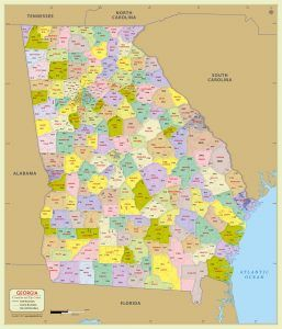 Zip Code Map Atlanta Ga on