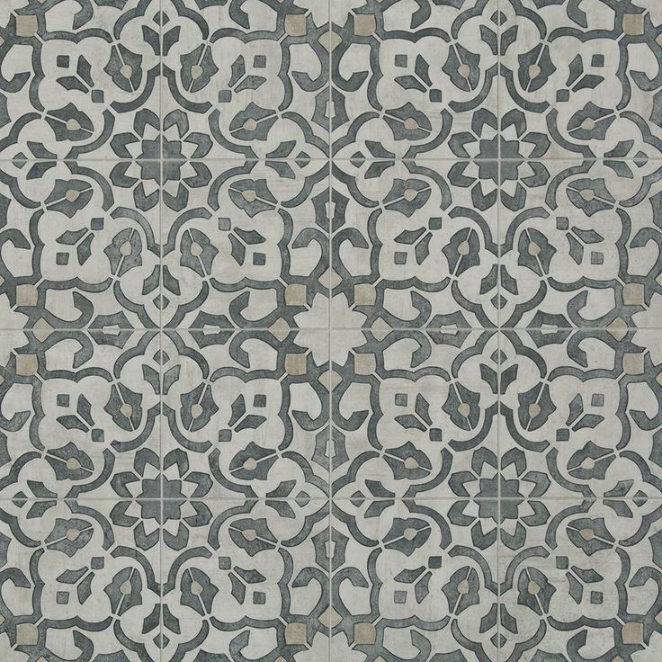 "<p>A 6"" luxury vinyl tile floor design with a vintage floral motif, Filigree is a rich and authentic look. Its weathered, hand painted pattern, and ornate metalwork visual exudes an eclectic mix of pastoral classy style.</p>"
