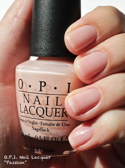 """OPI Nail Lacquer """"Passion"""": Swatches & Review - Time4Beauty"""