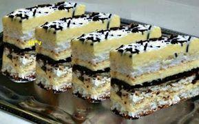 Prăjitură cu foi albe ...