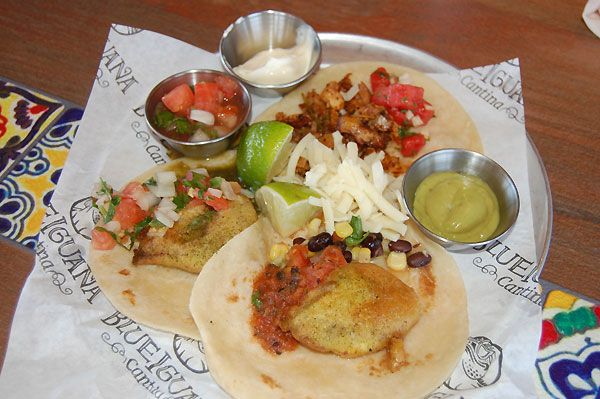 Seriously good tacos (and made-to-order burritos) at the Blue Iguana Cantina on the Carnival Liberty