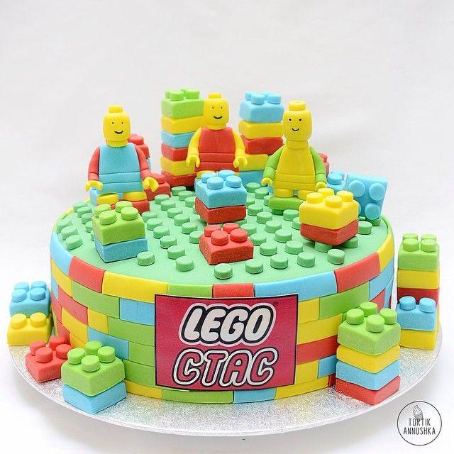 Торт LEGO  www.tortik-annucka.com  тел:+7 (495) 967-99-41  #лего #детскийторт #тортиканнушка #торт #tortikannushka  #lego #тортназаказ