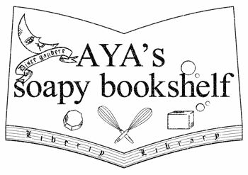 AYA's soapy book shelf logotype