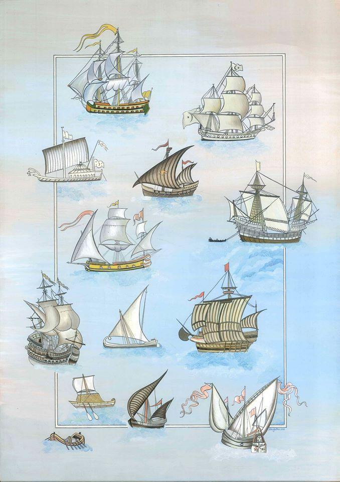 Piri'nin gemileri..