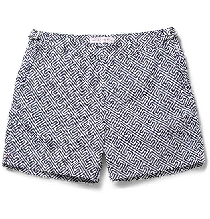 Orlebar Brown Bulldog Mid-Length Printed Swim Shorts | MR PORTER