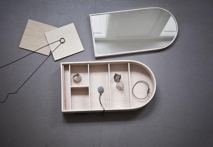 Menu Jewelry Box by Theresa Arns