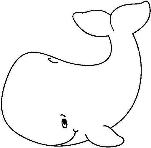 dibujos para colorear ballenas - Buscar con Google