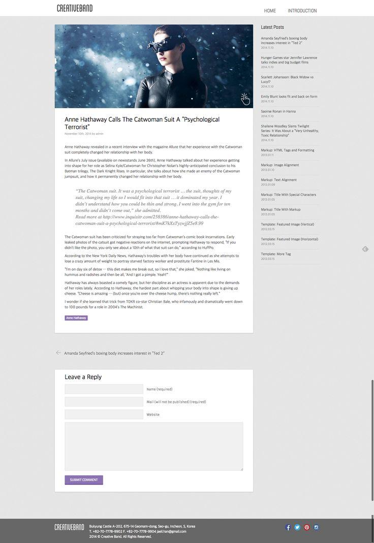 Free Masonry Layout WordPress Theme - Creative Band (creative-band.com)