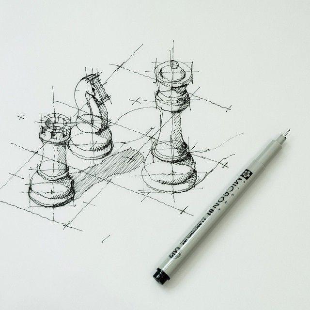 Die besten 25 fluchtpunkt zeichnen ideen auf pinterest for Stuhl design kunstunterricht