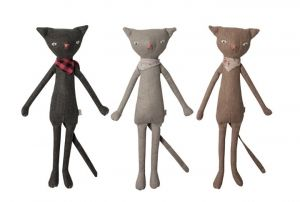 Plush Cats from Maileg - Love! $30