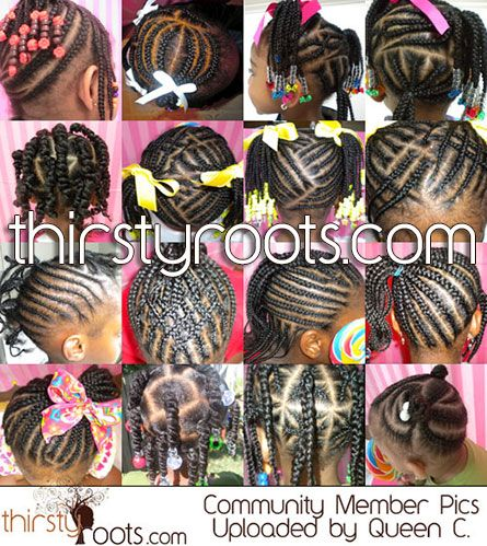 hairstyles for little girls with long hair | ... hairstyle for kids | thirstyroots.com: Black Hairstyles and Hair Care