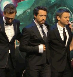 Robert Downey Jr the avengers gif | In Honor Of The Avengers 2 's Release Date, Enjoy These .Gifs ...
