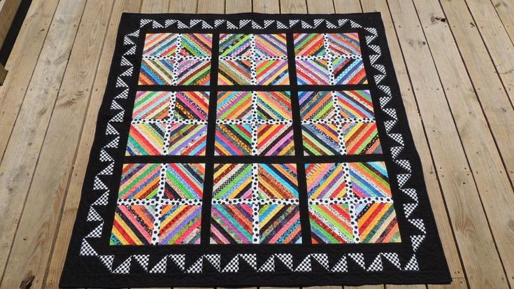 strip quilts | Strip Quilt