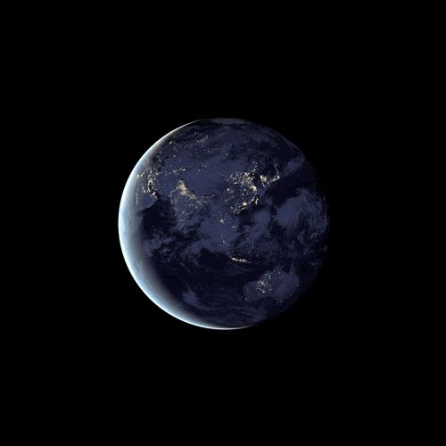 Planet Earth. Awesome GIFs!