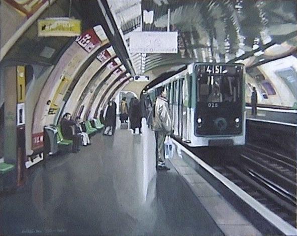 ©Marc GoldstainMetro station Paris www.bullesconcept.com