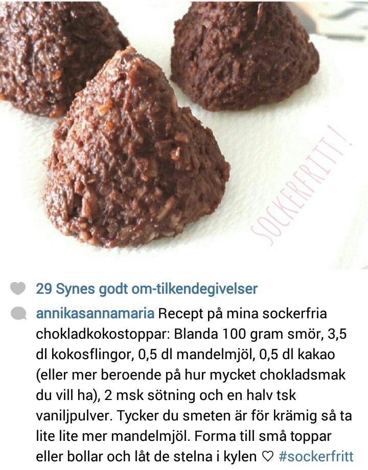 Chokoladekokostoppe