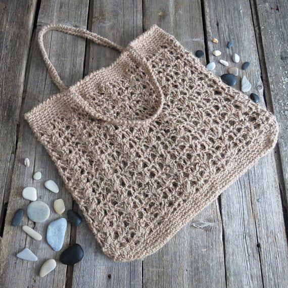 Bag knit beach bag shoulder bag handle purse women beach handbag summer bag crochet women bag tote shoulder bag crochet stylish bag pouch