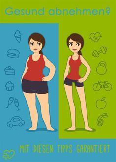 So verlierst du auf gesunde Weise Gewicht!