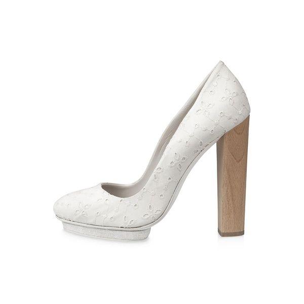 Love Shoe | Dear Frances | Wolf & Badger {french lace} {wood block heel}